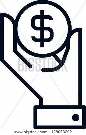 Wealth, Salary Icon