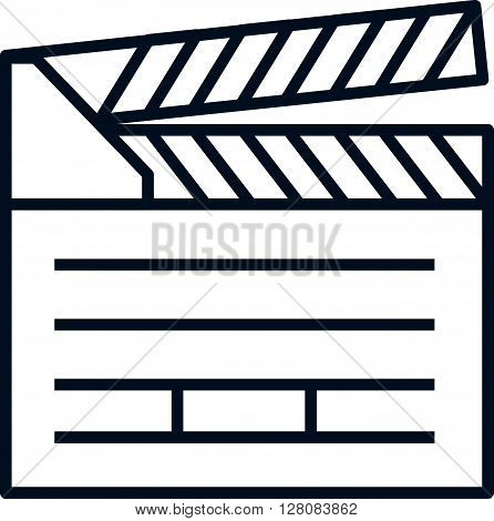Video, Clapper Board Icon