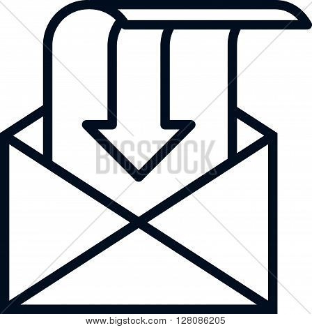 Inbox, Receive Mail Icon