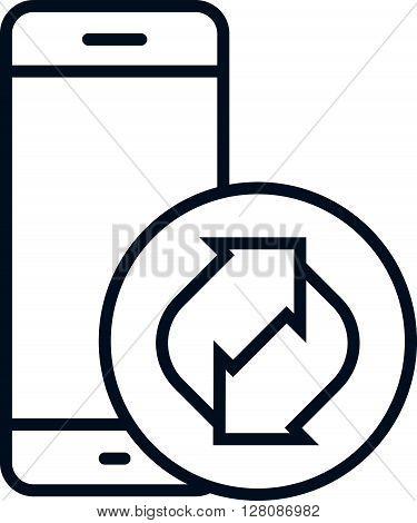 Recycling Electronics Icon