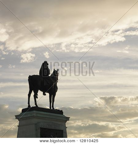 Statue on top of Capitol Building