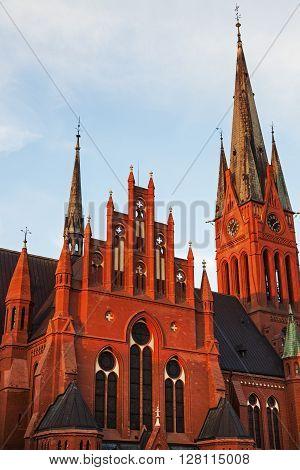 St. Catherine's Church in Torun. Torun Kuyavian-Pomeranian Poland