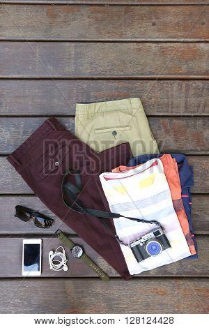 Essentials modern man kit - top view