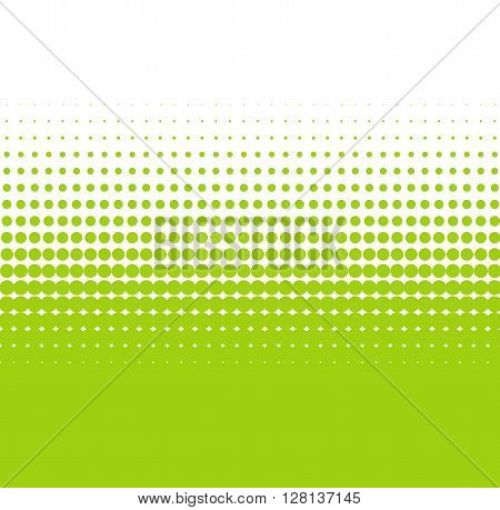 Pixel background with soft transition white green