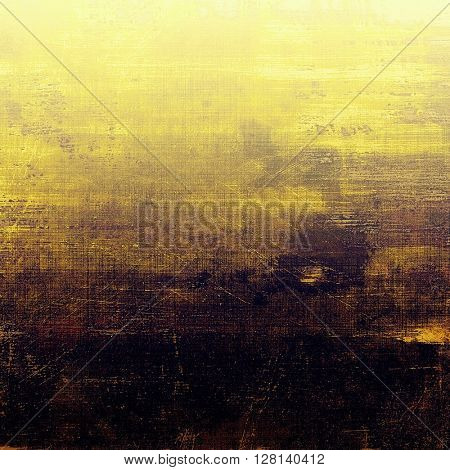Grunge retro composition, textured vintage background. With different color patterns: yellow (beige); brown; gray; purple (violet); black