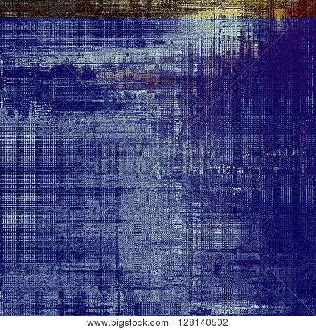 Creative elegant design used as retro background for your art project. With grunge texture and different color patterns: yellow (beige); brown; gray; purple (violet); black