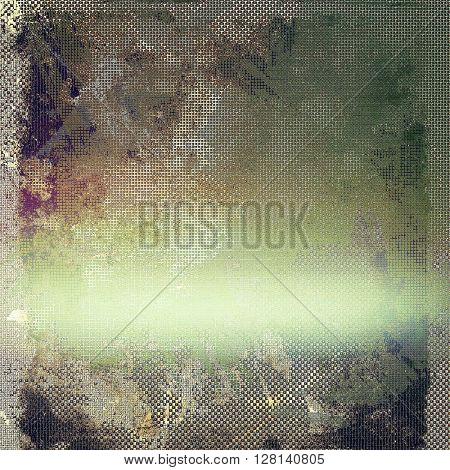 Elegant vintage background, grunge design template. Ancient texture with different color patterns: yellow (beige); brown; gray; green; purple (violet); white