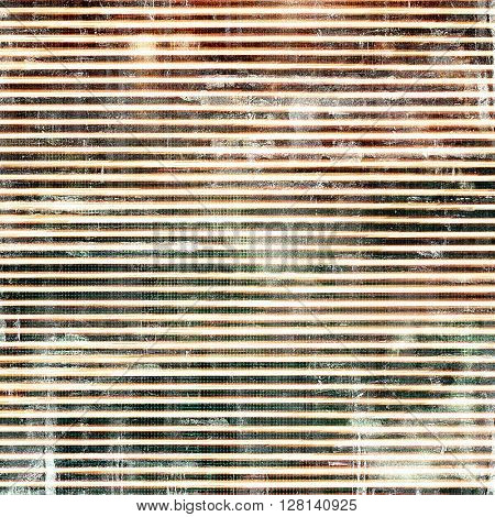 Old-style dirty background with textured vintage elements and different color patterns: brown; gray; red (orange); black; white