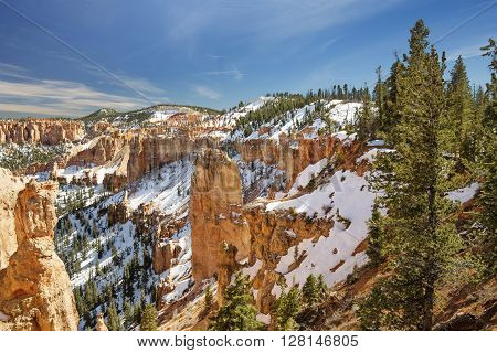 view of mountain in Bryce Canyon Utah