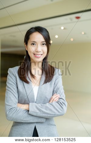 Young businesss woman