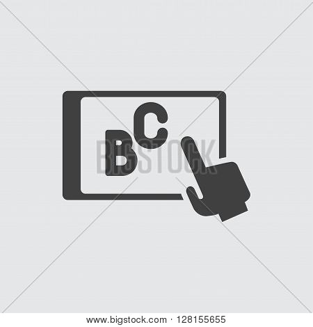 Teaching icon illustration isolated vector sign symbol