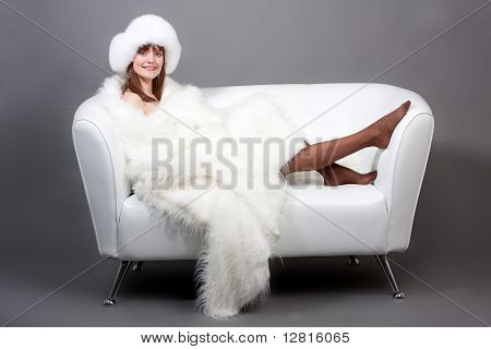 The Woman On A Sofa