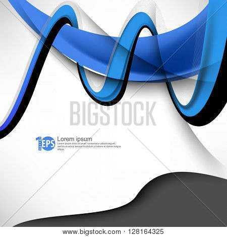 twisting lines design material background. eps10 vector