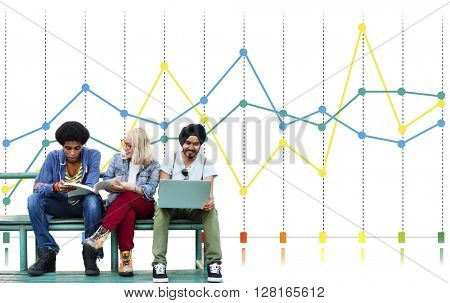 Finance Report Accounting Statistics Business Concept