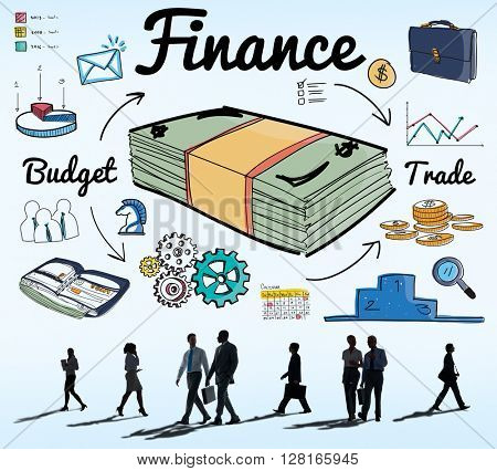 Finance Money Debt Expenditure Trade Concept