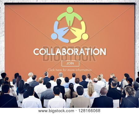 Collaboration Togetherness Support Unity Strategy Concept