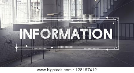 Information Data Research Report Results Concept