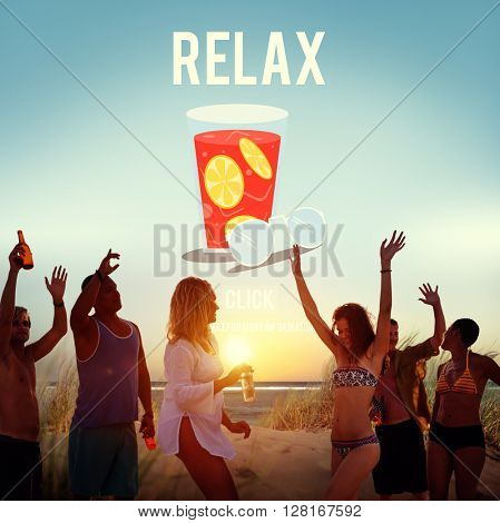 Relax Relaxation Vacation Summer Concept