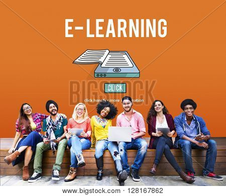 E-learning Education Internet Networking Sharing Concept