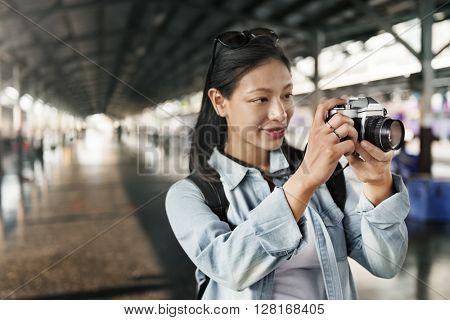 Photographer Photography Photograph Travel Trip Concept