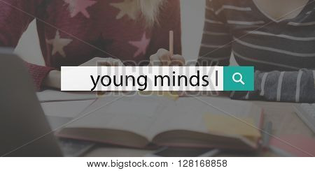 Young Minds Calm Relaxation Peace Concept