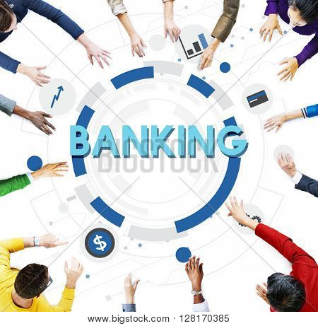 Banking Finance Currency Money Economy Management Concept