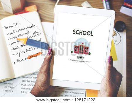 School Academy Education Graphics Concept