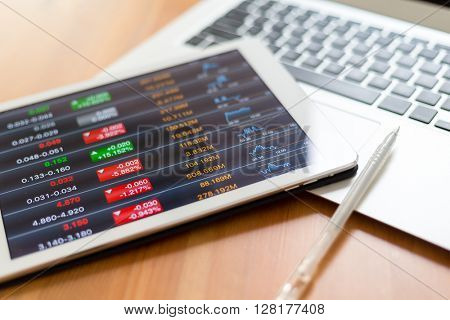 Work in stock exchange