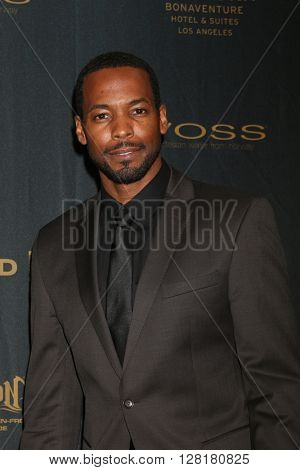 LOS ANGELES - APR 29:  Anthony Montgomery at the 43rd Daytime Emmy Creative Awards at the Westin Bonaventure Hotel  on April 29, 2016 in Los Angeles, CA