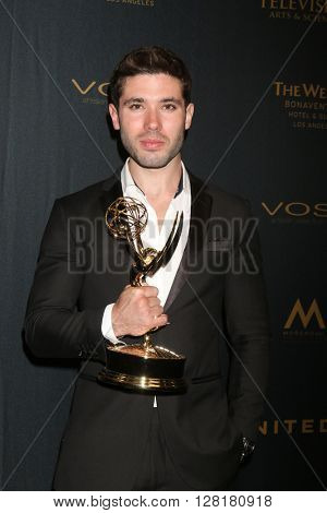 LOS ANGELES - APR 29:  Kirstos Andrews at the 43rd Daytime Emmy Creative Awards at the Westin Bonaventure Hotel  on April 29, 2016 in Los Angeles, CA