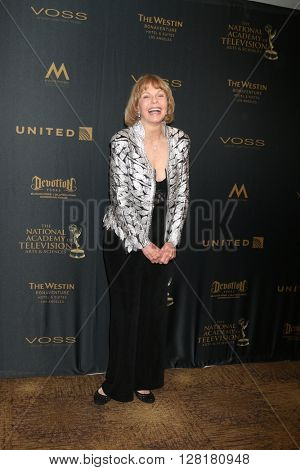 LOS ANGELES - APR 29:  Toni Tennille at the 43rd Daytime Emmy Creative Awards at the Westin Bonaventure Hotel  on April 29, 2016 in Los Angeles, CA