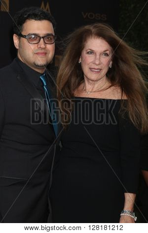 LOS ANGELES - APR 29:  Gregori J. Martin, Wendy Riche at the 43rd Daytime Emmy Creative Awards at the Westin Bonaventure Hotel  on April 29, 2016 in Los Angeles, CA