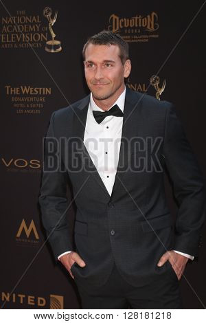 LOS ANGELES - APR 29:  Brandon McMillan at the 43rd Daytime Emmy Creative Awards at the Westin Bonaventure Hotel  on April 29, 2016 in Los Angeles, CA