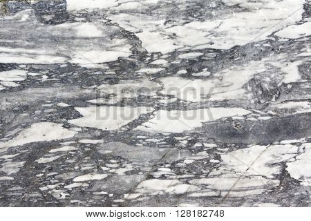 Texture of marble of gray color