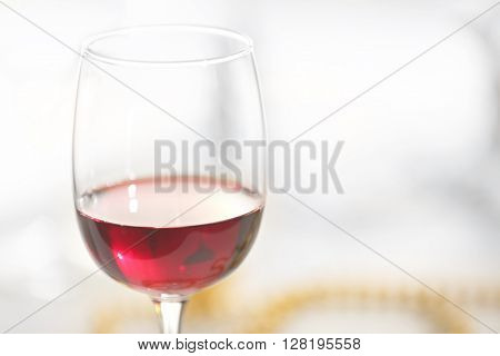 Wineglasses closeup