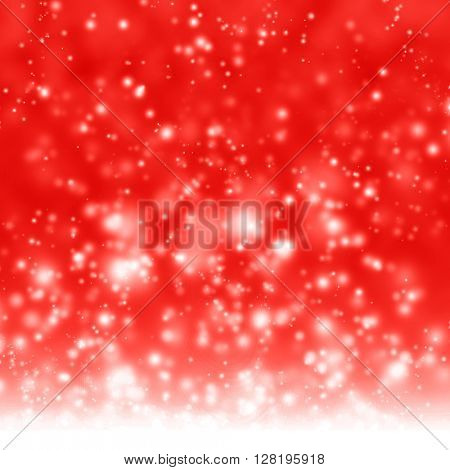 Glittering red background