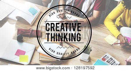 Creative Thinking Ideas Design Inspiration Imagination Concept