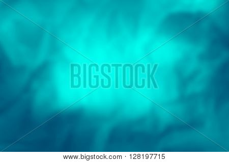 Abstract blue tone blurred background