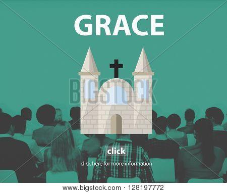 Grace Elegance Faith Religion Spirit Worship Concept