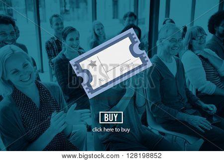 Cinema Movie Theatre Entertainment Ticket Concept