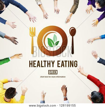 Healthy Eating Food Nutritional Concept
