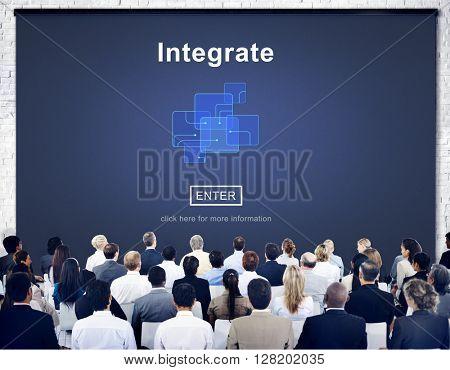 Integrate Circuit Links Merge Concept