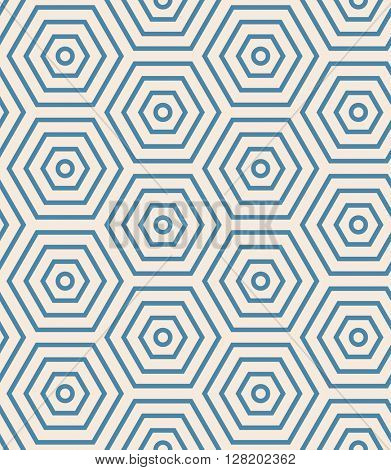 Abstract geometric background. Geometric seamless vector pattern