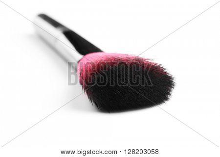 Makeup brush isolated on white
