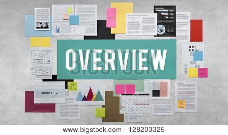 Documents Paperwork Business Strategy Concept