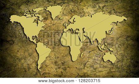 beigne cracked Map
