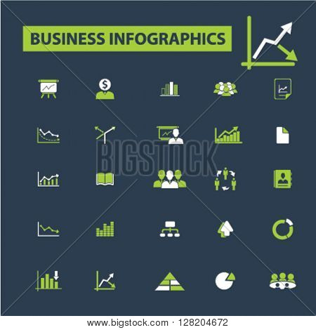 business infographics icons