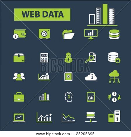 web data icons