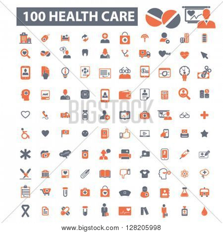health care icons