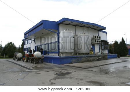Modern Small Scale Dairy For Milk Production